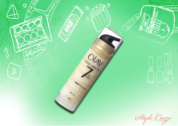 olay total effects 7 in one cream + serum