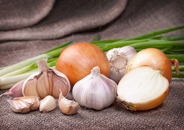 onion and garlic face pack