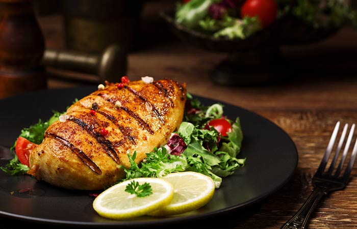 Pan-Grilled Chicken