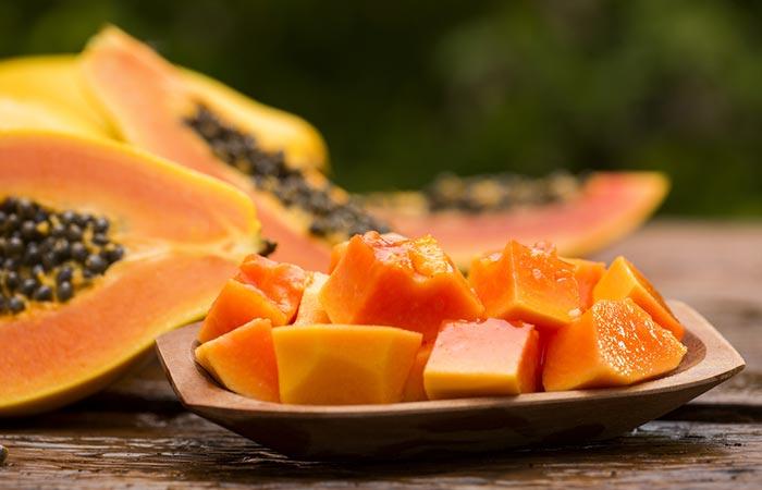 Papaya Face Pack For Dark Spots