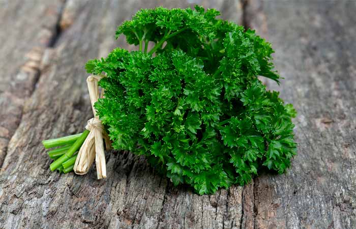 Best Anti-aging Foods - Parsley