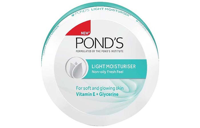 Pond's Light Moisturizer - Water-Based Moisturizers For Oily Skin