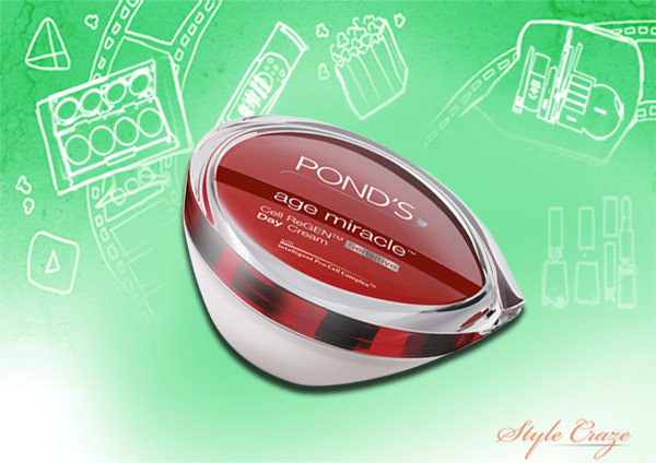 ponds age miracle regenerating day cream