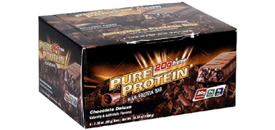 Pure Protein Bars, Chocolate Deluxe