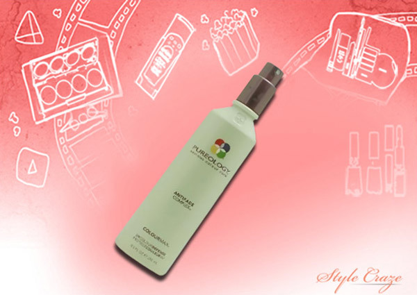 pureology anti fade complex color max uv defense spray