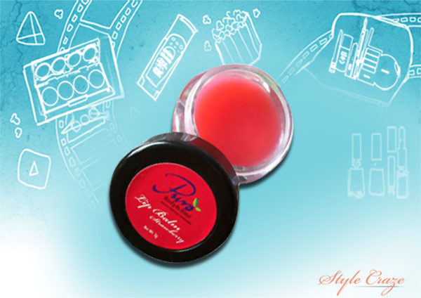 puro body and soul strawberry lip balm