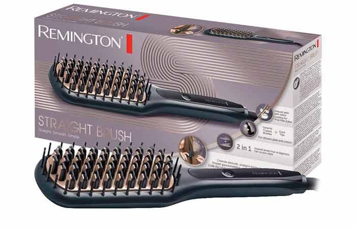 Remington CB7400 Keratin Protect Sleek & Smooth Heated Brush