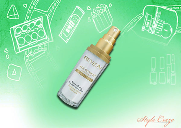 revlon age defying deep re shaping face and contour serum