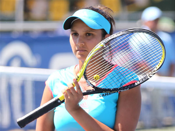 Female Sports Celebrities In India - sania mirza