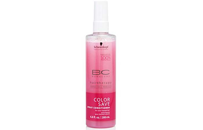 Schwarzkopf Bonacure Color Free Spray Conditioner - Best Leave-In Conditioners