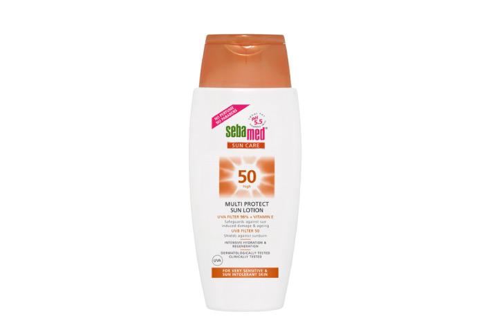 6. Sebamed Sun Care 50+ Very High Multi Protect Sun Lotion pH 5.5 - Best Sunscreen For Oily Skin
