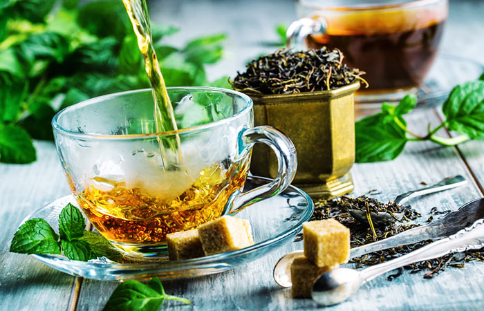 Slimming-Green-Tea-And-Mint