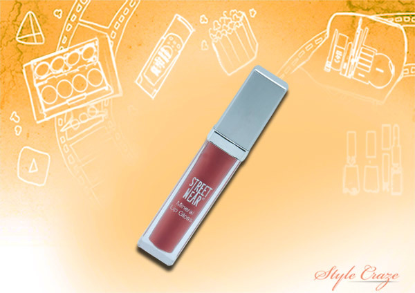 streetwear mineral lip gloss in mulberry dip