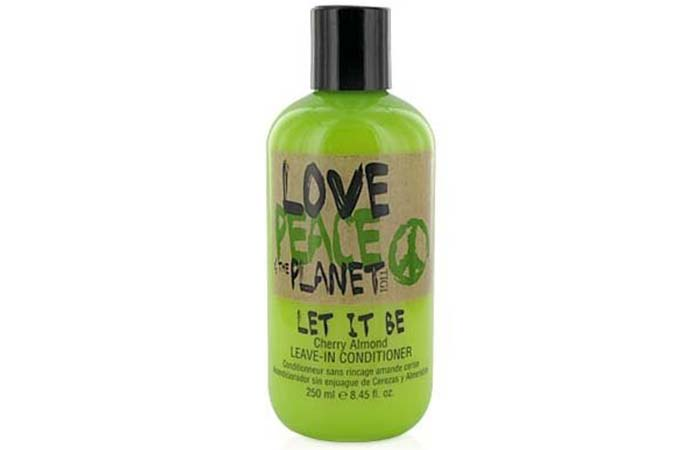 TIGI Love Peace And The Planet Let it Be Leave-in Conditioner - Best Leave-In Conditioners