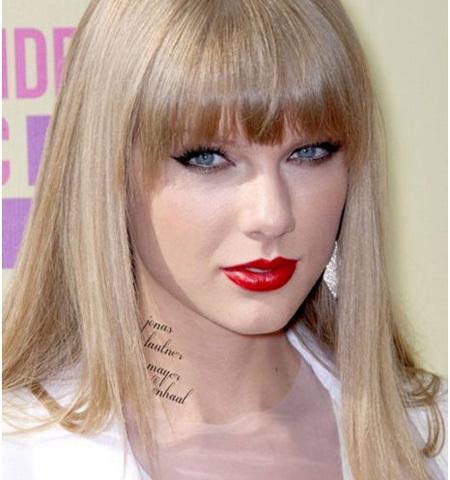 Taylor Swift tattoos