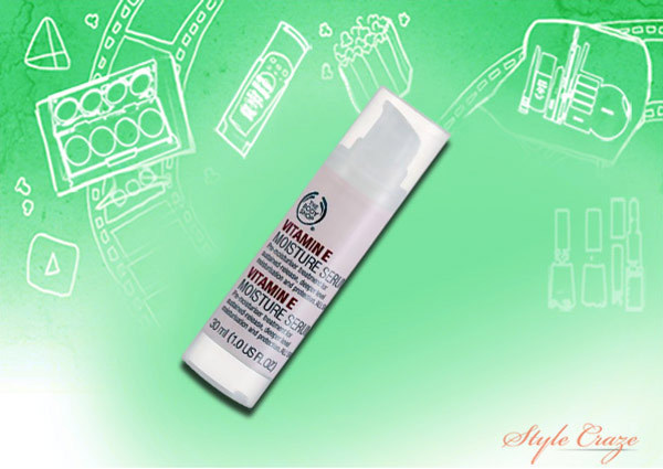 the body shop vitamin e moisture serum