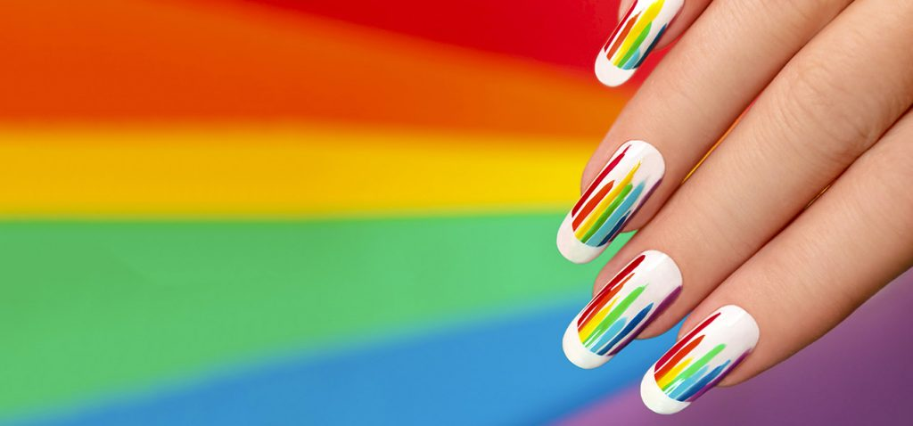 - 10 Most Impressive Rainbow Nail Designs For This New Year 2018