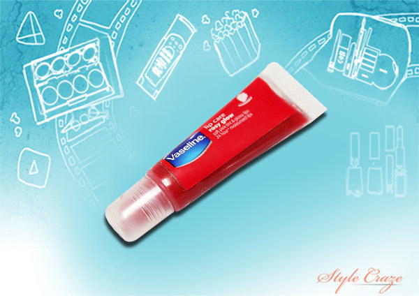 vaseline lip care rosy glow strawberry frost