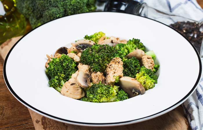 Vegan Broccoli And Mushroom Stir Fry