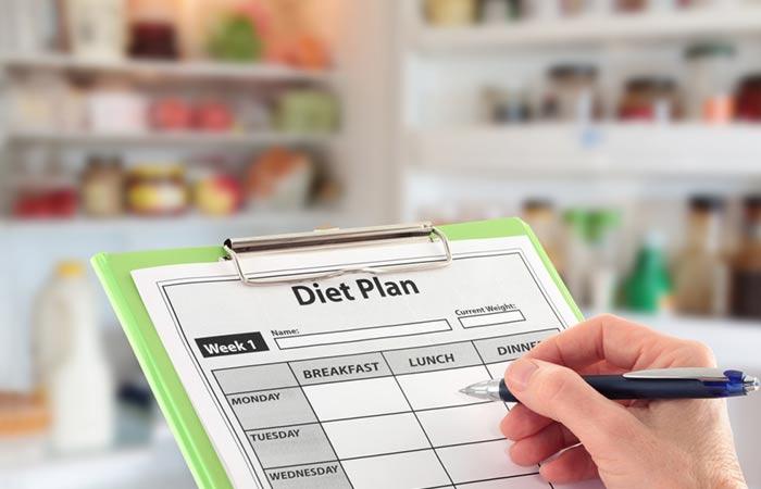 Vitiligo Sample Diet Plan