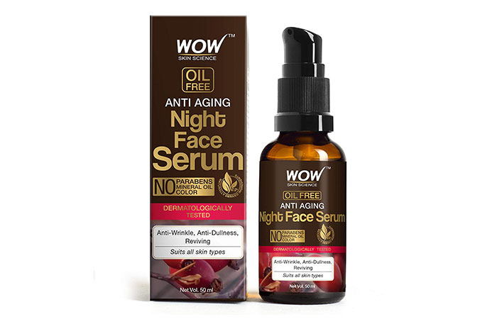 WOW Anti-Aging Night Face Serum
