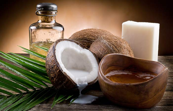 Warm Coconut Oil Massages