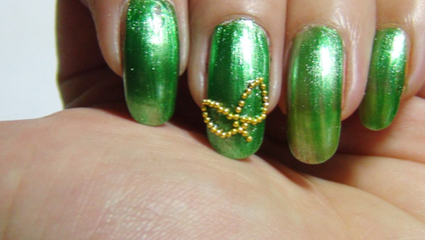 Step 2: - Fun Green Nail Art Designs You Can Try Right Now