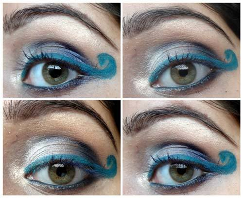 Eye makeup step by step instructions with pictures