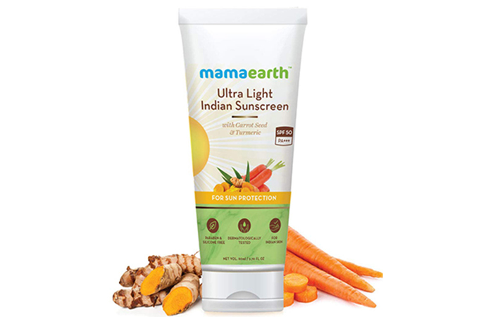 mamaearth Ultralight Indian Sunscreen