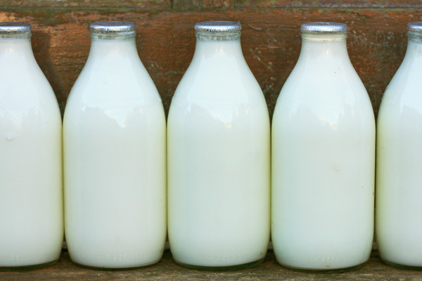 Foods for Healthy Bones - milk