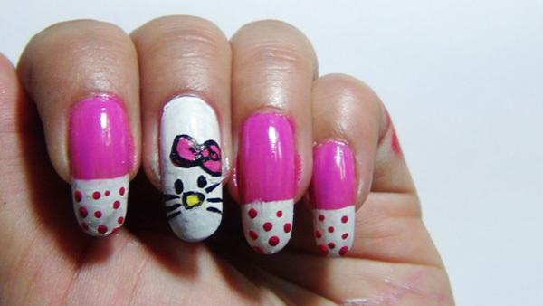 nail art five