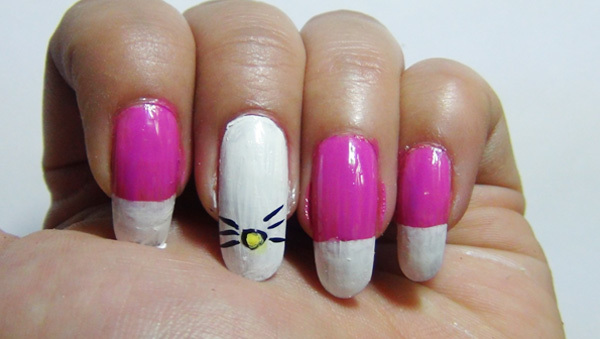nail art three