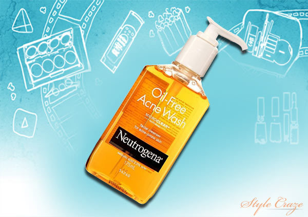 neutrogena oil free acne wash review