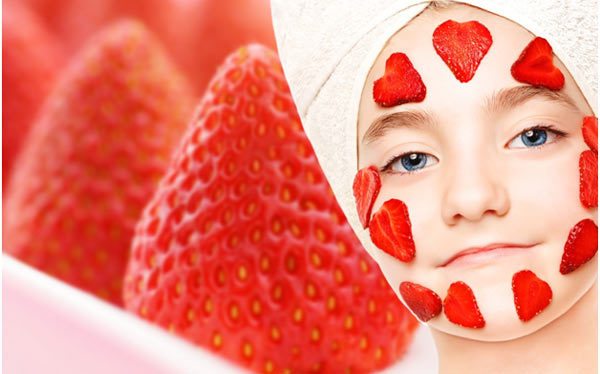 Hair Spa At Home -Strawberry Mask For Hair