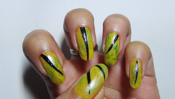 Fun green nail art designs you can try right now step 3 prinsesfo Choice Image