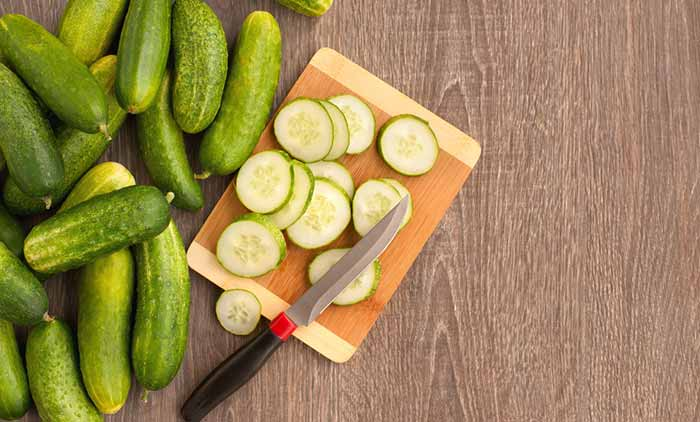 Best Foods For Oily Skin - Cucumbers