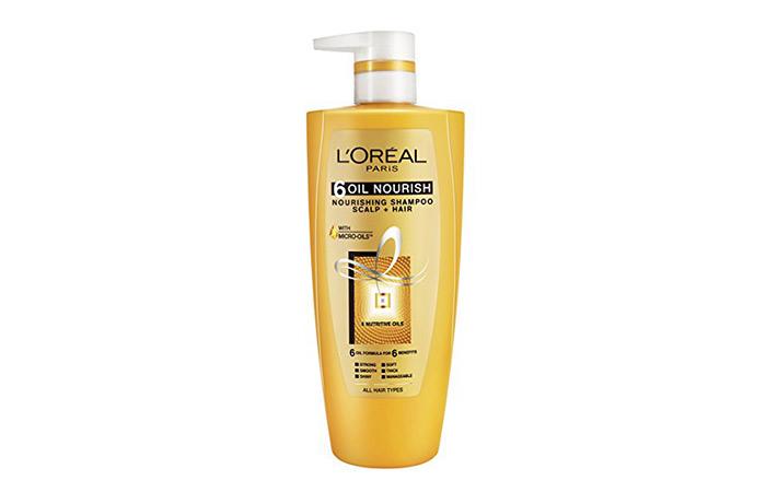 1. L'Oreal Paris 6 Oil Nourish Shampoo