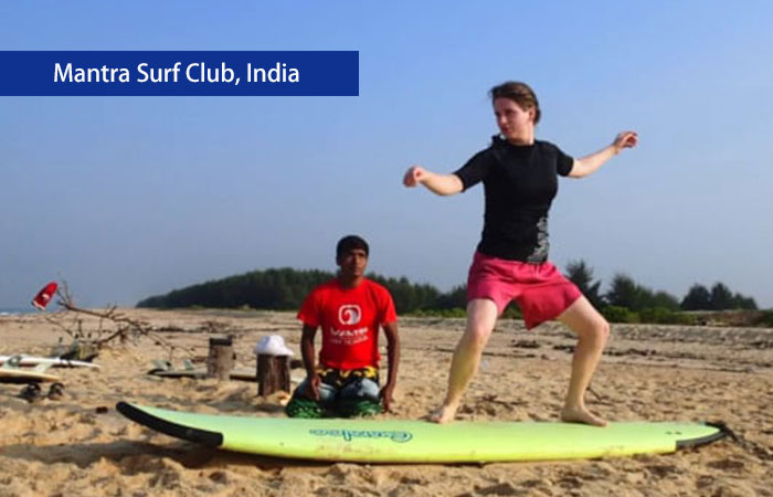 1. Mantra Surf Club, India
