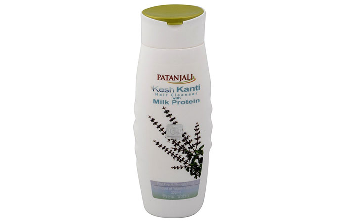 1. Patanjali Kesh Kanti Hair Cleanser With Milk Protein