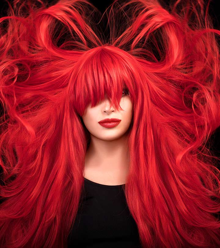 10 Best Red Hair Color Products Available In India