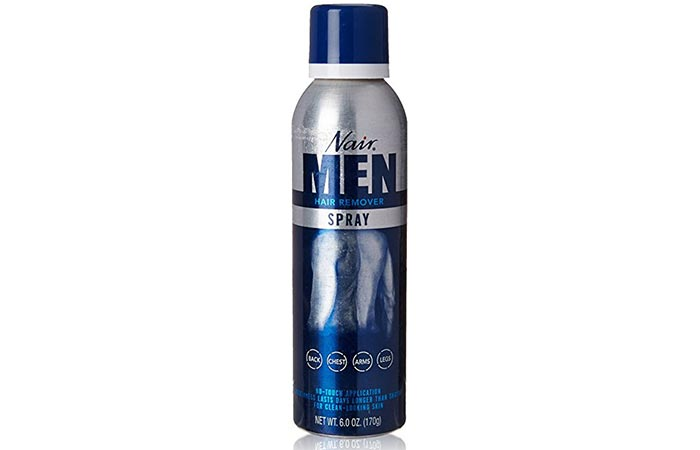 10. Nair Men's Hair Removal Spray