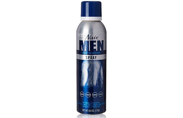 Best Hair Remover Sprays - Nair Men's Hair Removal Spray