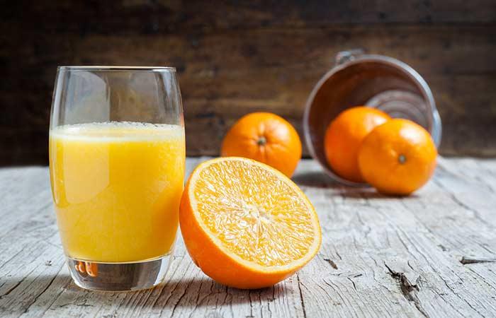 Lower Your Cholesterol Levels - Orange Juice