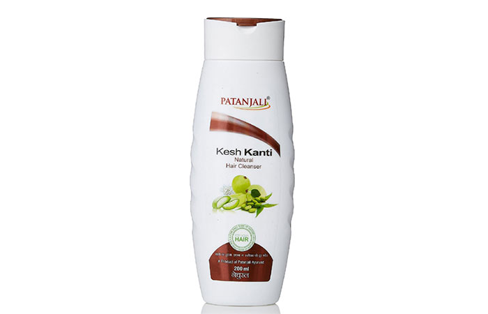 10. Patanjali Kesh Kanti Natural Hair Cleanser