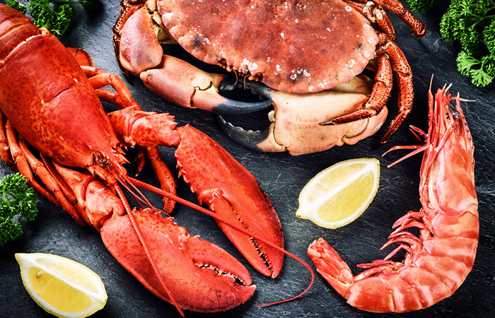 Foods To Eat To Treat Hypothyroidism -Shellfish