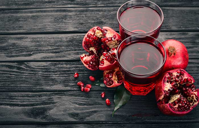 Lower Your Cholesterol Levels - Pomegranate Juice