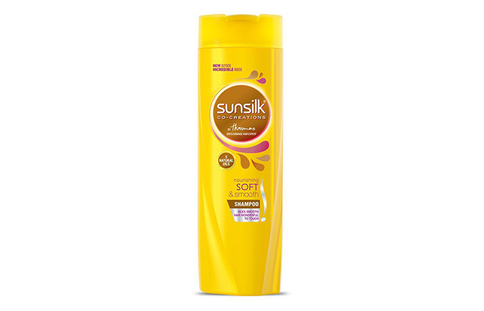 12. Sunsilk Nourishing Soft & Smooth Shampoo