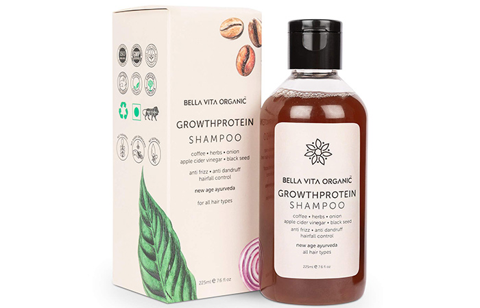 Bella Vita Organic Growth Protein Shampoo