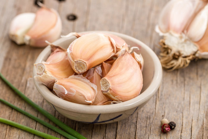 13. Garlic For Mouth Ulcers
