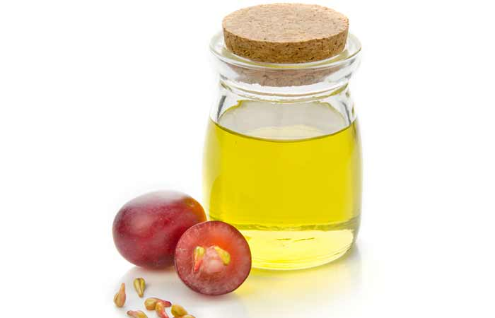 how to stop hair breakage - Grapeseed Oil